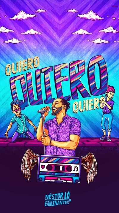 #QuieroCumbia: el nuevo challenge de Néstor Lo y Los Caminantes