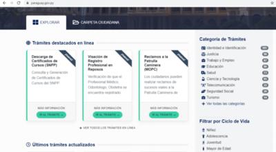 Resaltan aumento de trámites en línea a través del Portal Paraguay
