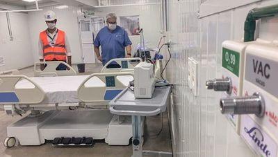 En menos de un mes entregan hospital de contingencia (100% de materia prima y mano de obra paraguaya)