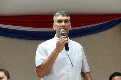 """El """"Brasiguayo"""" gobernador del Amambay, Ronald Acevedo (PLRA) amenazó con abrir la frontera"""