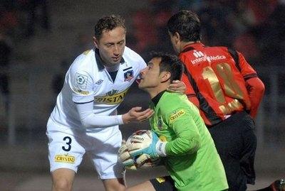 Mena recordó un 'enorme' gesto de Justo Villar en Colo Colo