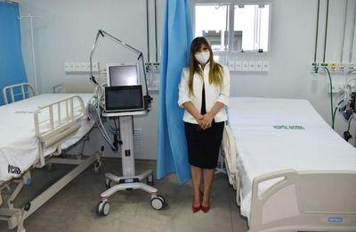 Hay   50 nuevas camas de terapia intensiva