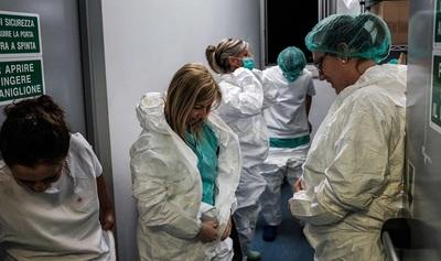 Práctica de evacuación de enfermos de COVID19 en Palacio de López