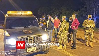 BARRERAS SOLO DEBEN ESTAR EN LAS CABECERAS DEPARTAMENTALES