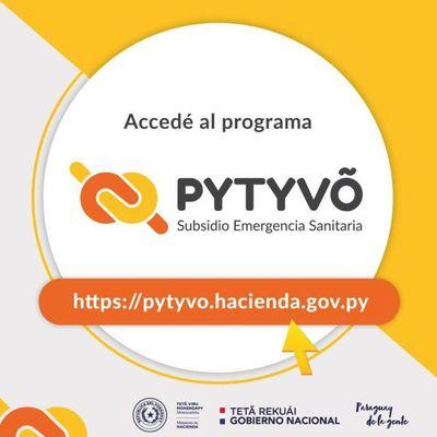 Pytyvõ: Subsidio llegó a 1.022.338 beneficiarios