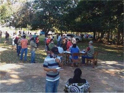 MAG entrega insumos y semillas a productores de Caaguazú