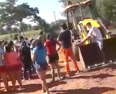 Vecinos lalan contra un camposanto pyahu ra'e