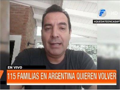 Más de 100 familias en Argentina piden al Gobierno ser repatriadas