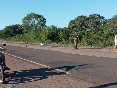 Motociclista muere atropellado por una ambulancia en Paso Horqueta