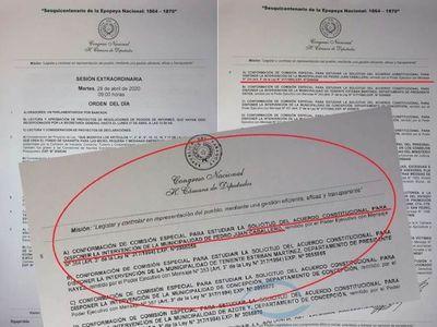 Medida cautelar presentado por José C. Acevedo no impide frenar pedido de Intervención municipal