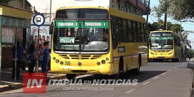 REANUDAN SERVICIO DE TRANSPORTE PÚBLICO A PARTIR DEL LUNES 27 DE ABRIL