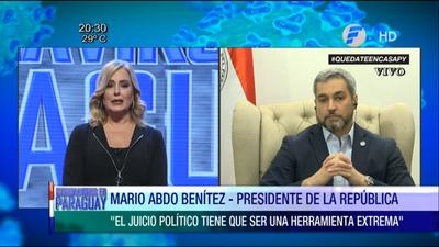 Menchi reclamó al Presidente más impuestos, mientras miles de empresas se encuentran camino a la quiebra