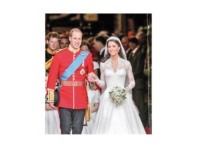 Recordaron noveno aniversario de bodas del príncipe  William y Kate Middleton