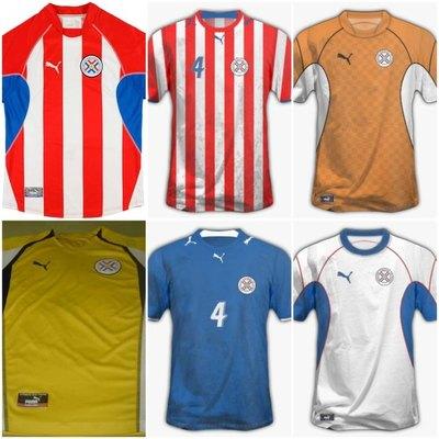 De colección: las camisetas Puma que utilizó Paraguay