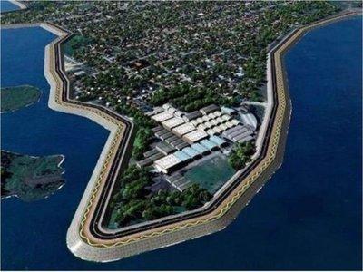 Se pone en marcha la futura defensa costera de Pilar