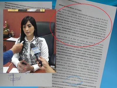 Víctima de coacción por el Diputado Acevedo presenta denuncia ante Ministerio Público