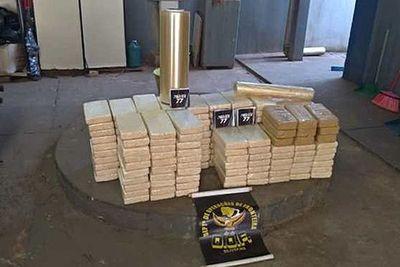 Confiscan carga de cocaína