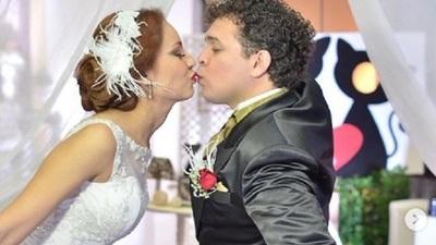 Dani Meza celebró 5 años de matrimonio con PerlaServián