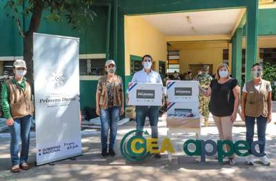 """Campaña """"Acción Solidaria desde el Campo"""" avanza firme hacia la meta de un millón de platos"""