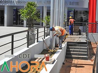 Nuevo Hospital del IPS en CDE se inauguró SOLO PARA LAS FOTOS