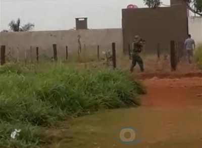 Brasileño fue detenido tras ignorar un alto militar en Cerro Cora'í, el hombre recibió disparos intimidatorios
