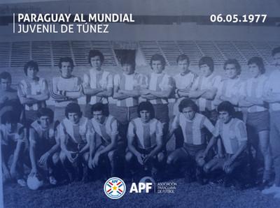De Venezuela al Mundial de Túnez 1977