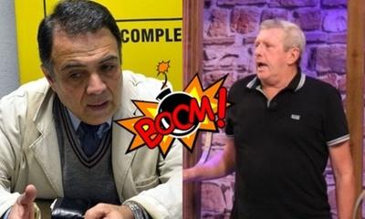 """El Profe Mazier tildó de """"Loco y trol.."""" a Aníbal Shupp"""