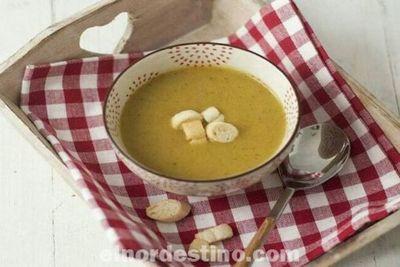 Las cremas de verduras son platos saludables que permiten aprovechar las vitaminas y minerales de los vegetales