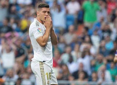 Luka Jovic, lesionado