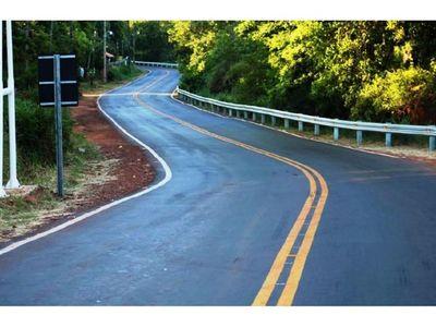 Varios  distritos de Itapúa cuentan con nuevo asfaltado