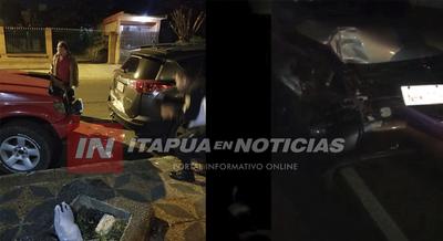 AGENTE DE TRÁNSITO PROTAGONIZÓ ACCIDENTE.
