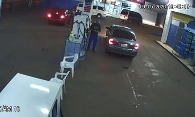 Sinvergüenza, cargó combustible y se dio a la fuga sin pagar