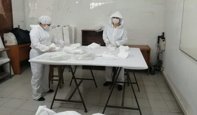 Empresas textiles elaboran tapabocas con sello de calidad