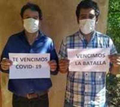 Misiones: Padre e hijo ganan la batalla contra el covid-19