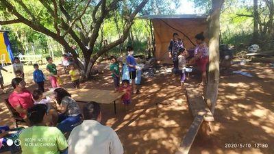 Vecinos y comerciantes de Ybycuy realizan ollas populares