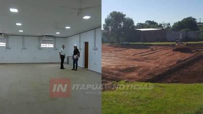 AVANZA CONSTRUCCIÓN DE ALBERGUE EN EL IPS DE ENCARNACIÓN