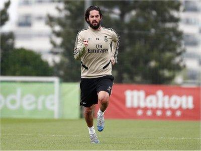 Las dos ausencias en el entrenamiento del Real Madrid