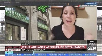 """HOY / Italia, en una fase dos denominada: """"Convivencia con el virus"""""""