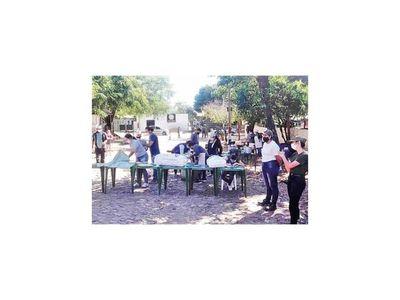 Olla popular  entrega 300 platos en Fernando de la Mora