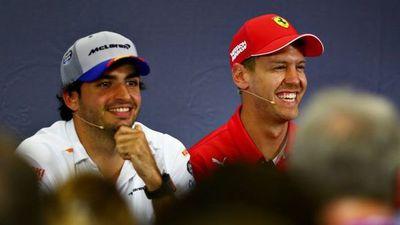 Carlos Sainz Jr, el elegido de Ferrari para sustituir a Vettel