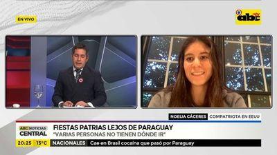 Fiestas patrias lejos de Paraguay