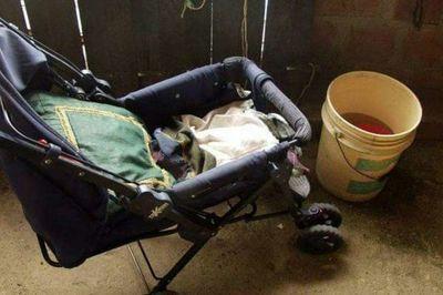 Fatal descuido: bebé fallece ahogado en balde