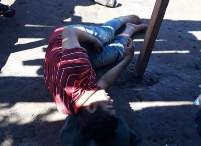 Joven baleado por su padrastro tras un altercado
