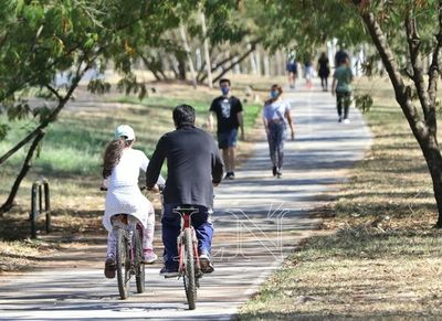 Parques Ñu Guasu y Metropolitano están abiertos
