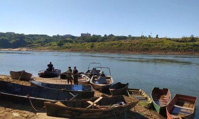 Incautan embarcaciones en aguas del río Paraná