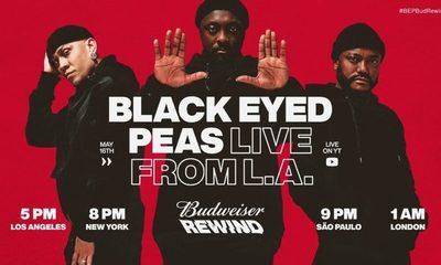 Mirá el concierto de los Black Eyed Peas a través de Live Streaming