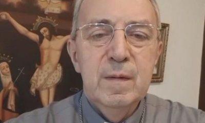 Monseñor Steckling está internado