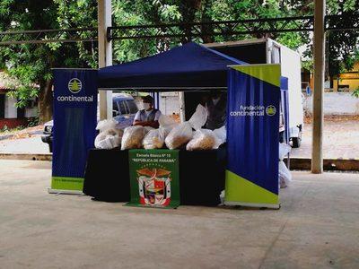 Continental distribuye 4.000 kits de alimentos llegando a 20.000 personas