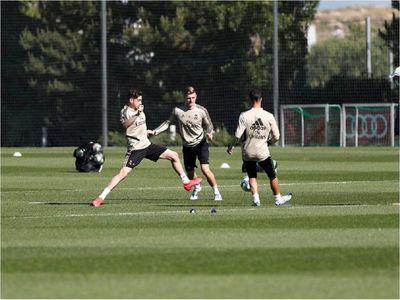 Real Madrid recupera sensaciones con balón