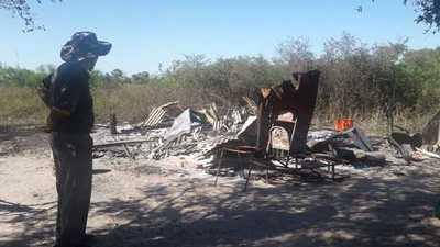 Septuagenario denuncia que nativos le quemaron la casa